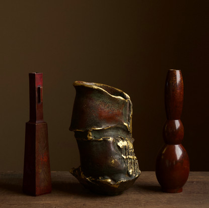 Selection of Modern Japanese Bronze Vases 03.jpg