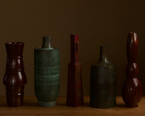 Selection of Japanese bronze vases.jpg