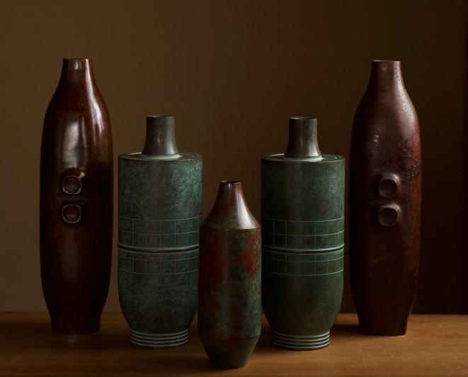 Selection of Modern Japanese Bronze Vases 04.jpg