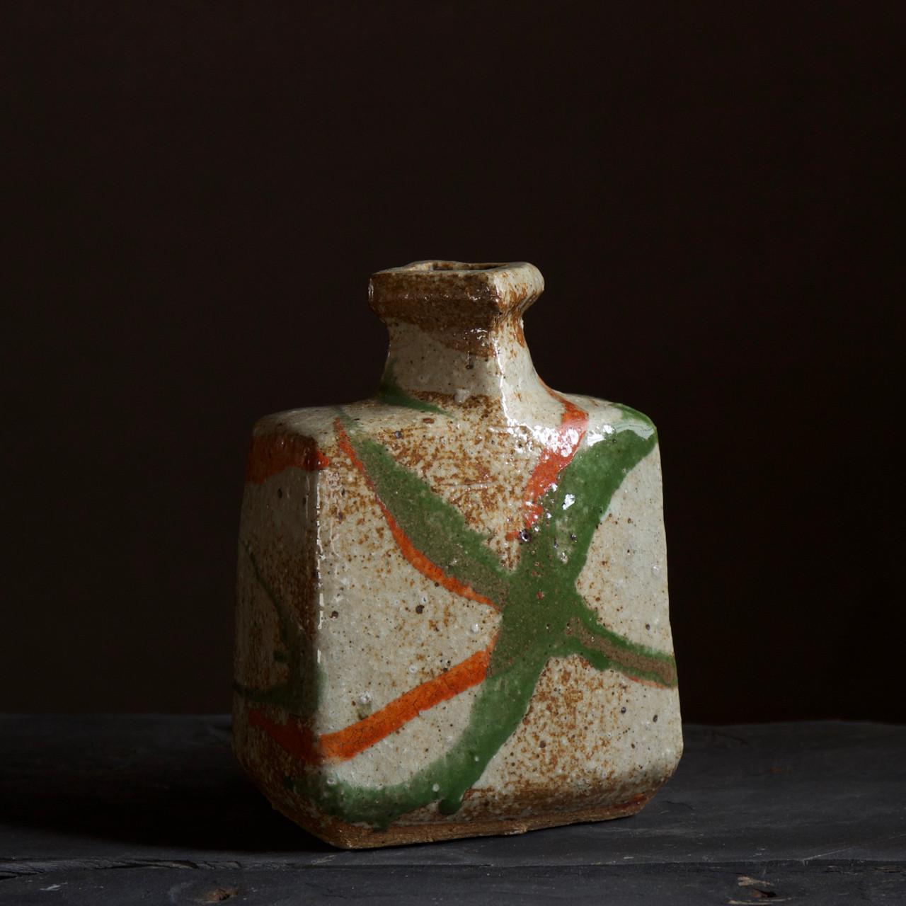 Kawai Hirotsugu tricolor bottle vase.jpg