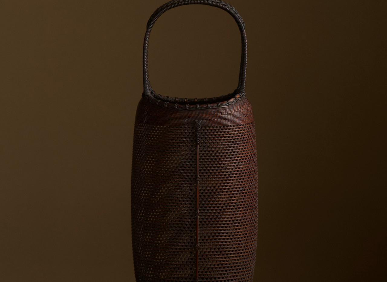 Bamboo flower basket Morita Chikuyosai 01.jpg