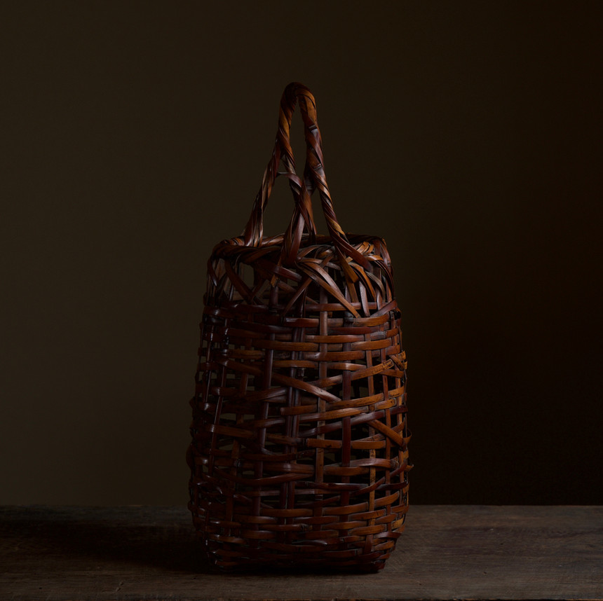 Wada Waichisai I Bamboo flower basket 03.jpg