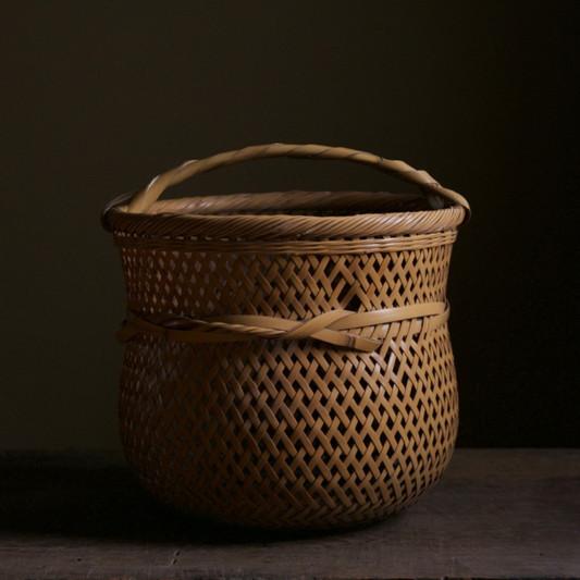 Yokota Hosai (Minesai) Shirasabi Flower Basket.jpg