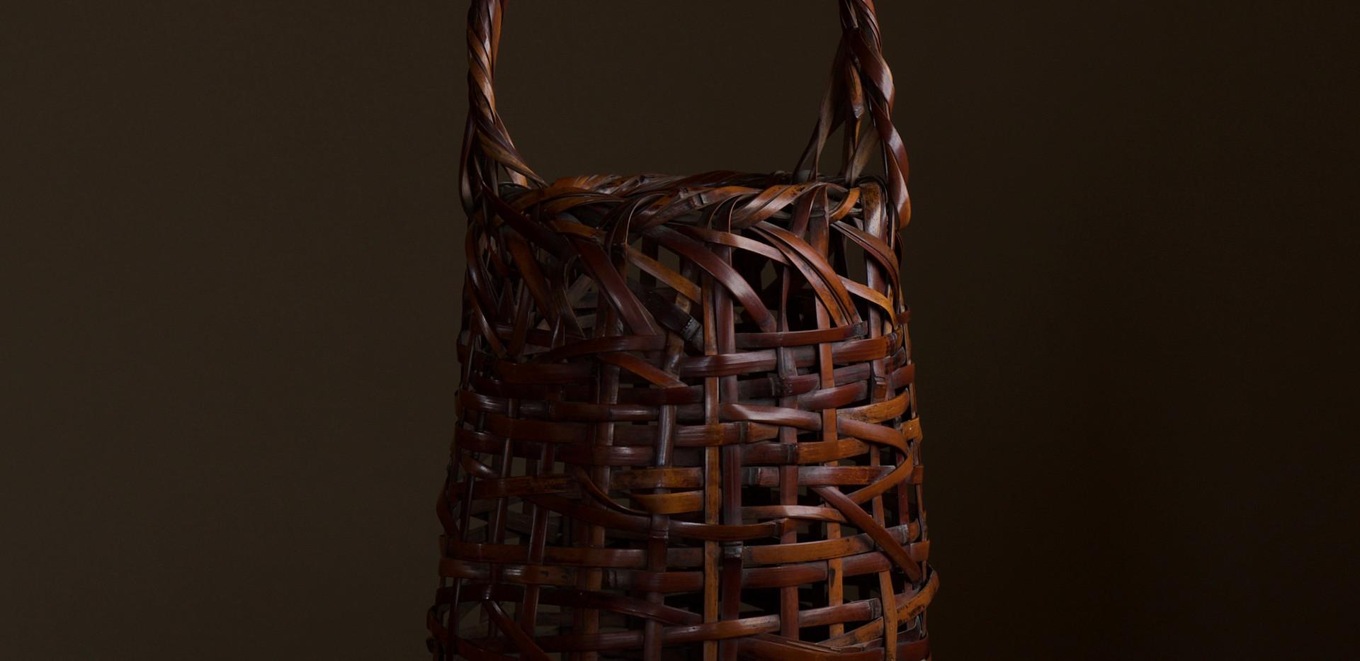 Wada Waichisai I Bamboo flower basket 01.jpg