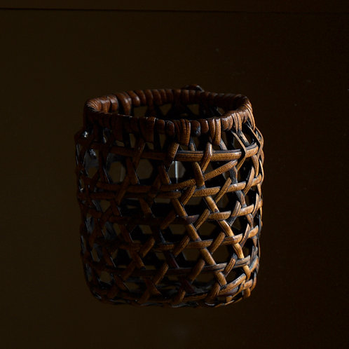 Anonymous rattan wall basket