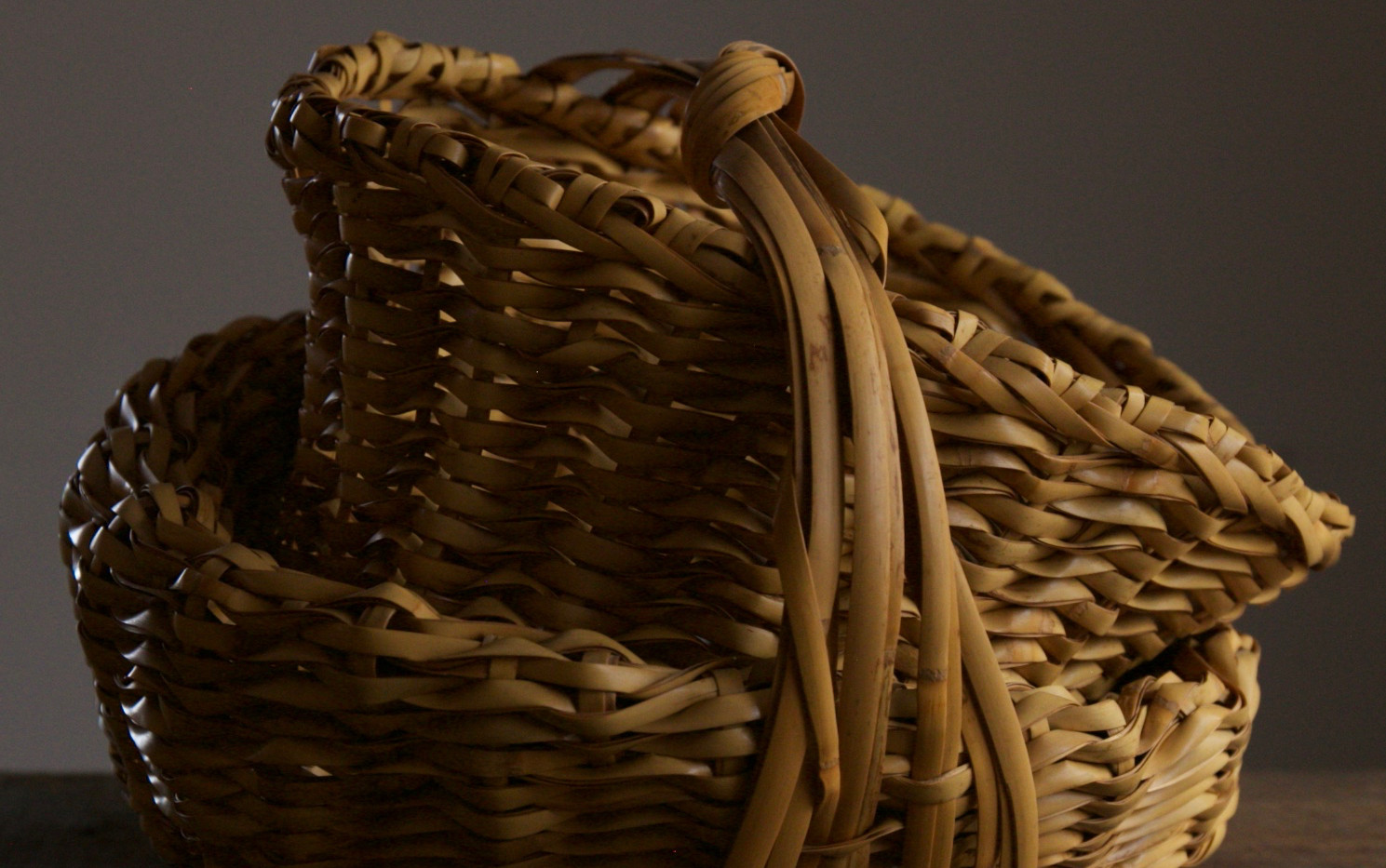 Folded basket by Iizuka Shokansai 03.jpg