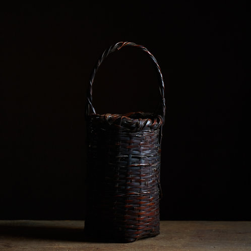 Wabi-sabi flower basket by Shokosai III