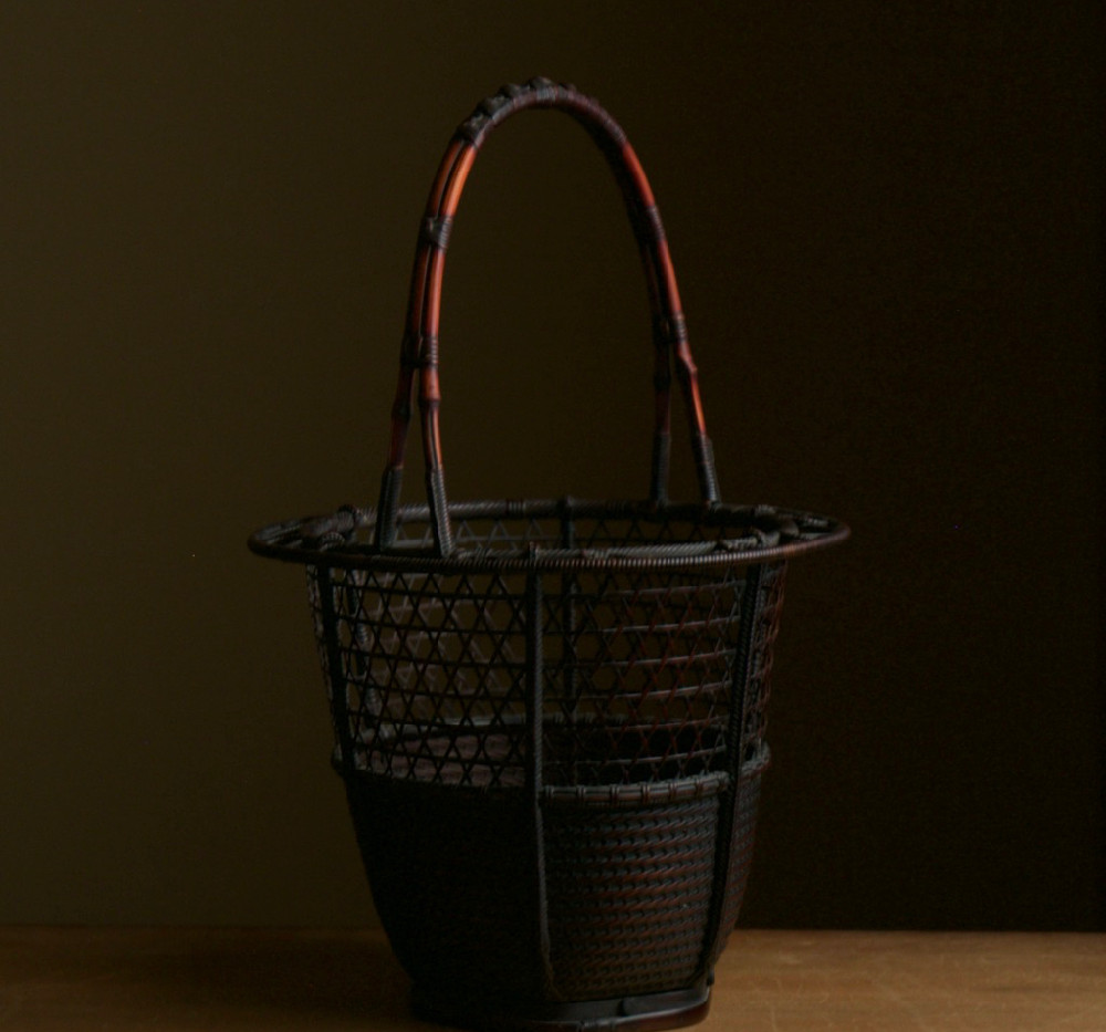 Ryuikyo style flower basket by Hosai 03.jpg