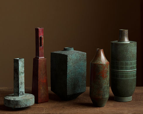 Selection of Japanese bronze vases 1.jpg