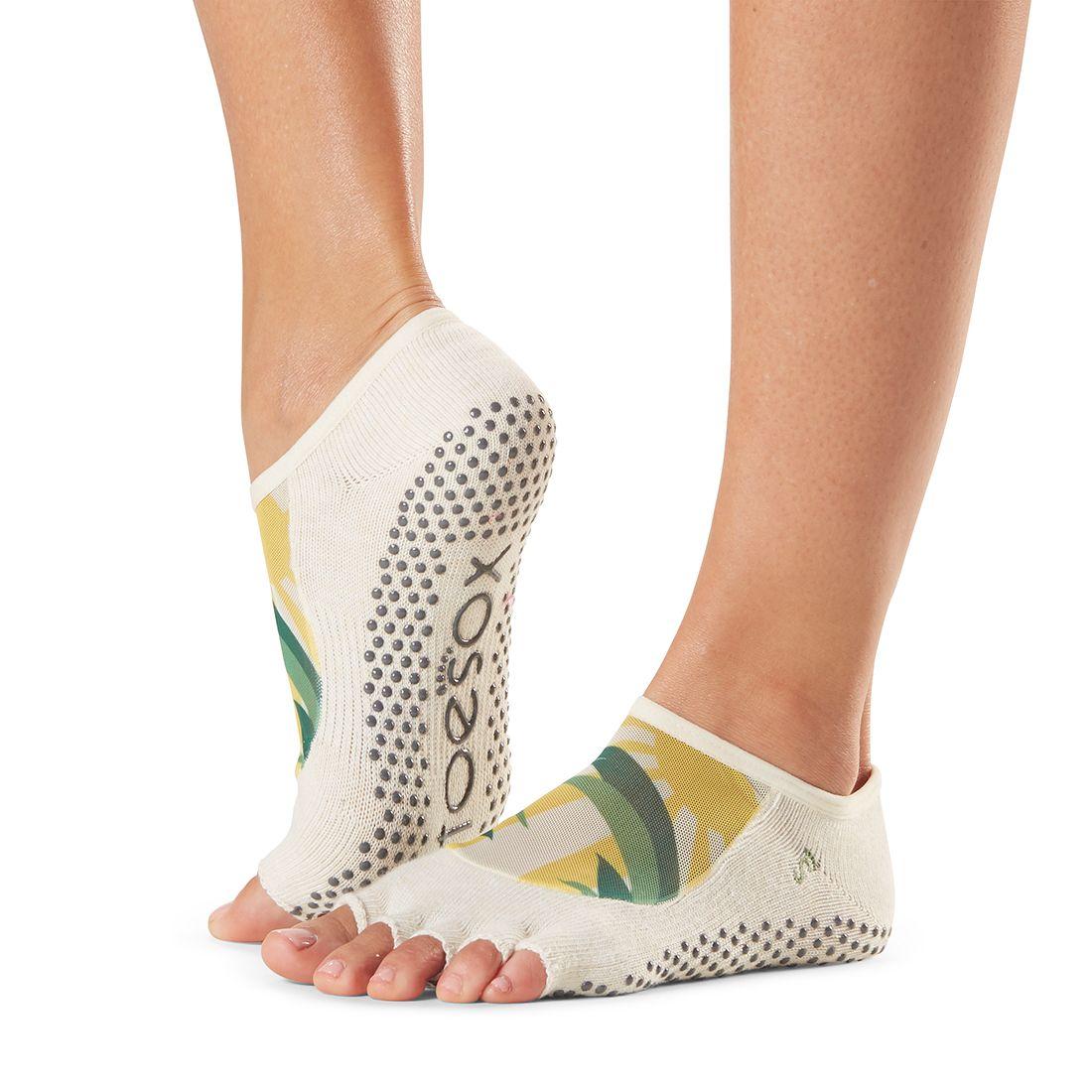 ToeSox Luna Half Toe Socks