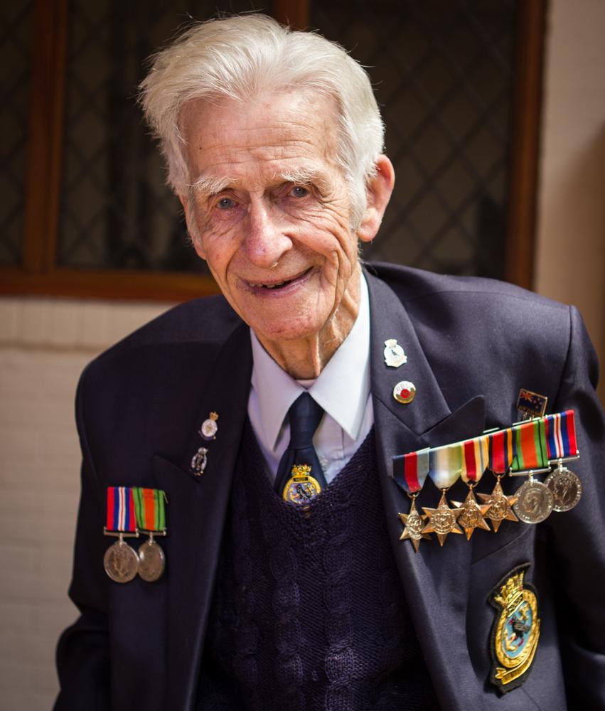 Commander Keith Evans, HMS HOOD