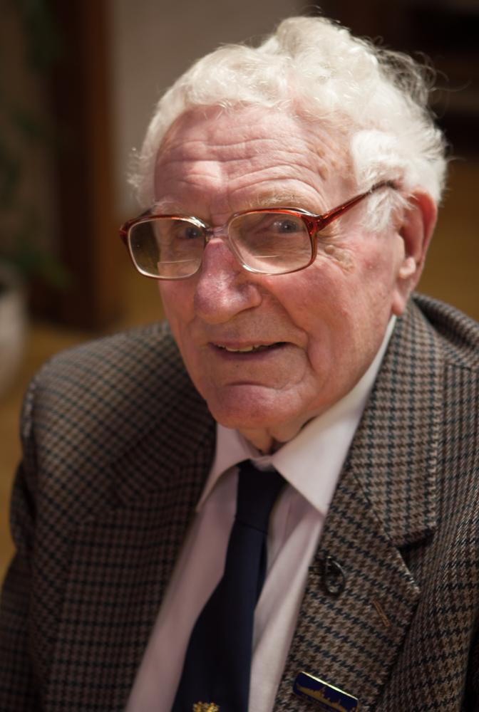 Alec Kellaway, HMS HOOD veteran