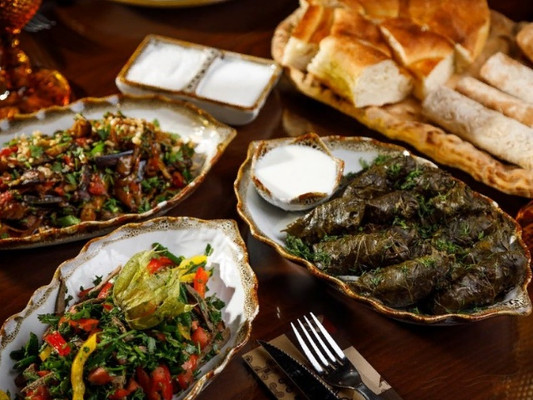 Блюдо из меню ресторана