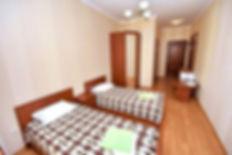 Однокомнатный «Стандарт» две кровати без