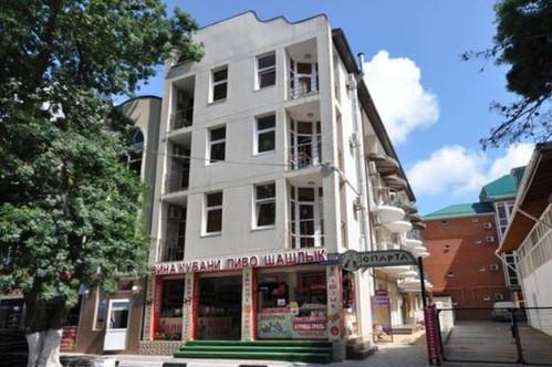 Гостиница «Спарта» Дивноморское