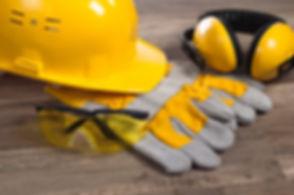 Standard construction safety equipment.j