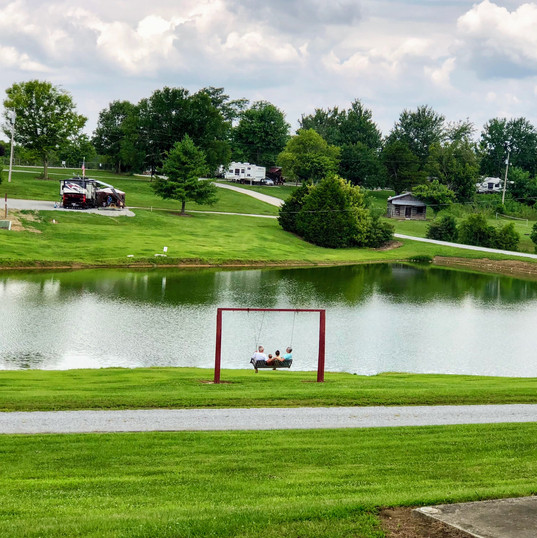 Catch & Release fishing lake
