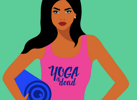 "Podcast ""Yoga is dead"""