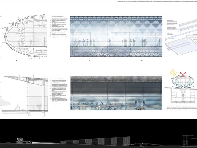 Pavilion glass structure