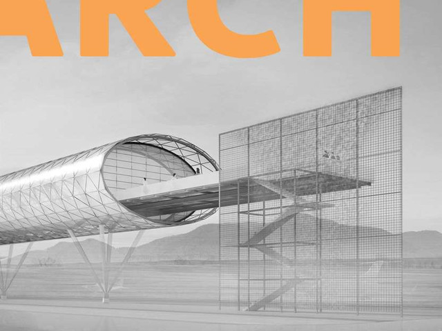 """Cover of the architecture magazine """"ARCH""""   May–July, 2014"""