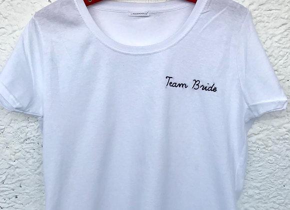 "T-shirt ""Team Bride"""