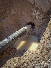 Asi queda la tuberia instalada con los trabajos de perforacion direccional