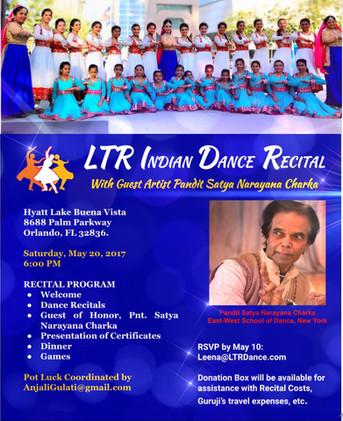 Recital Flyer