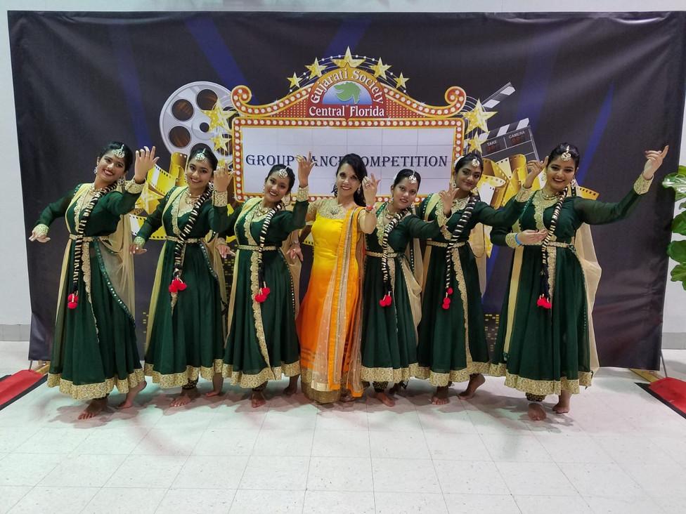 Group Competition Seniors Performance with LeenaJi