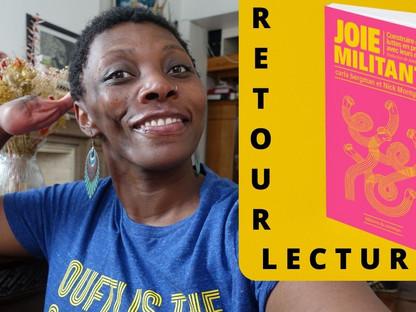 JOIE MILITANTE - RETOUR LECTURE