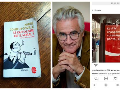 """"""" LE CAPITALISME EST-IL MORAL ? """" ANDRÉ COMTE-SPONVILLE"""