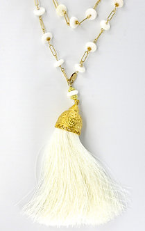 Extra Large Silk Tassel Necklaces