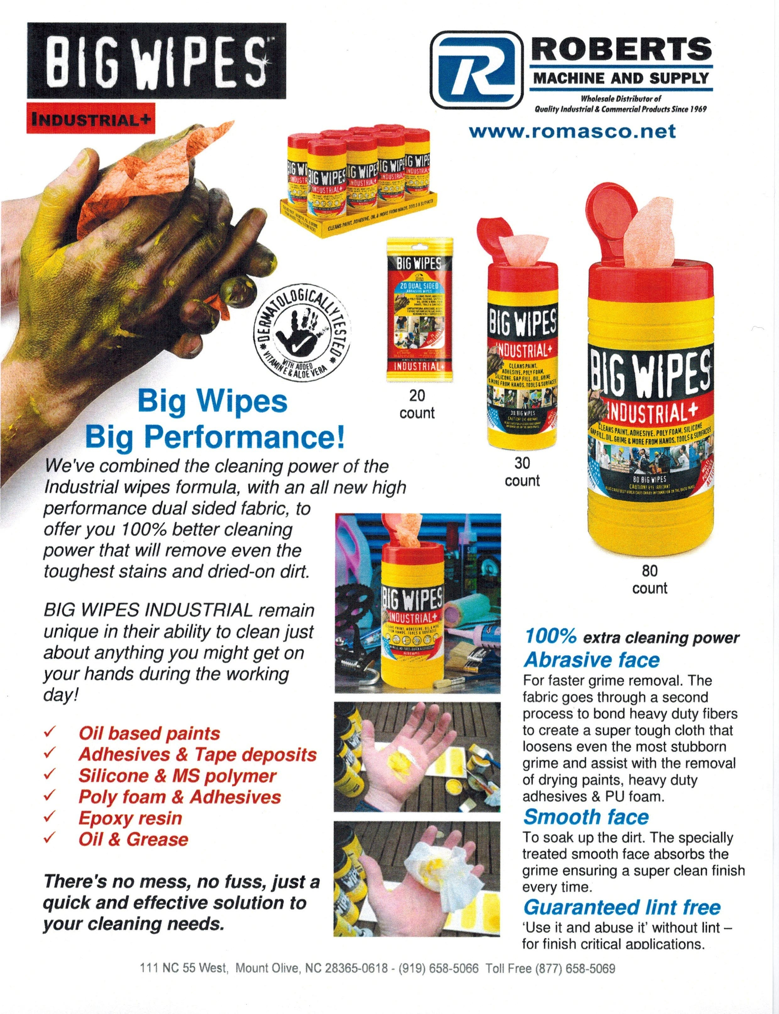 Big Wipes Industrial