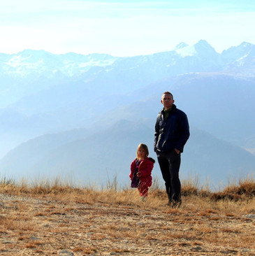 Greg & Saige in the Pyrenees