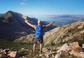 Greg Hiking in Utah