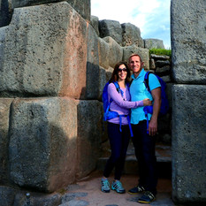 Rachel & Greg at Saqsaywayman, Peru