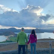 Greg & Rachel in the Galapagos