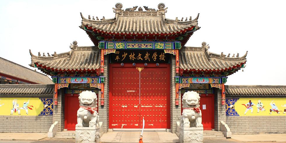 Martial Arts in China (Postponed)