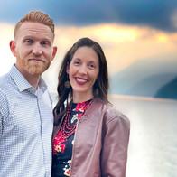 Greg & Rachel at Lake Atitlan, Guatemala