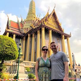 Greg & Rachel in Bangkok, Thailand