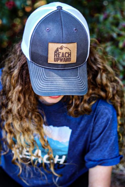 Reach Upward Leather Hat