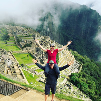 Greg & Rachel at Machu Picchu, Peru