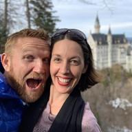 Greg & Rachel at Neuschwanstein Castle