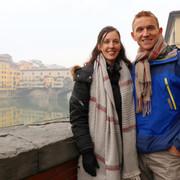 Greg & Rachel in Florence, Italy