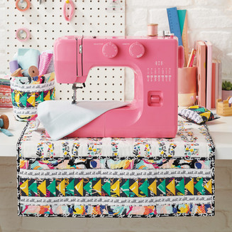 Sewing mat, thread catcher and pin cushion set