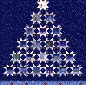 Tomten's Christmas quilt
