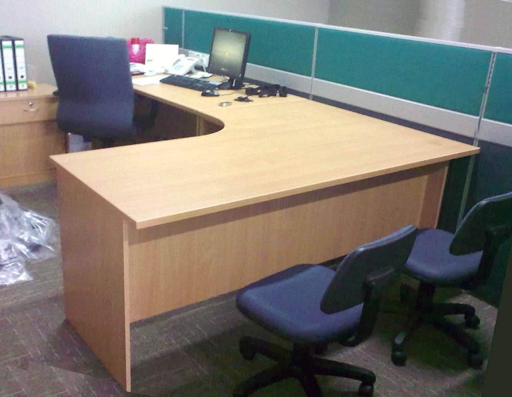 L Shape Table