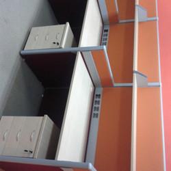 Open Plan Workstation 3 pax