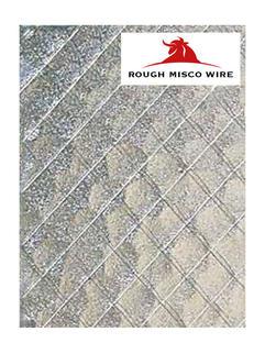 Rough Misco Wire