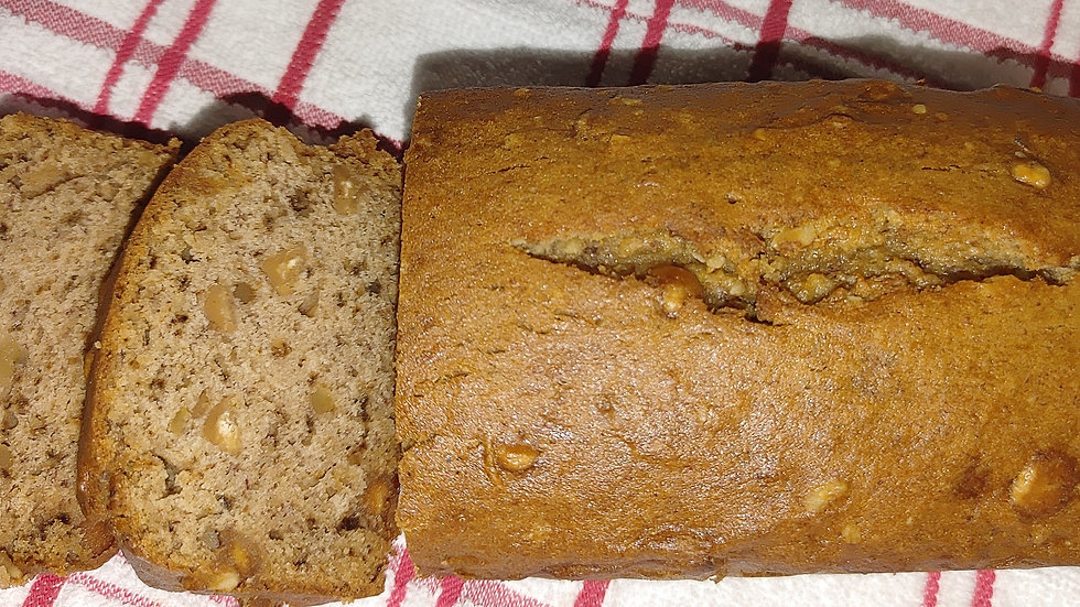 Grumpy's Homemade Gluten Free Loaded Banana Bread