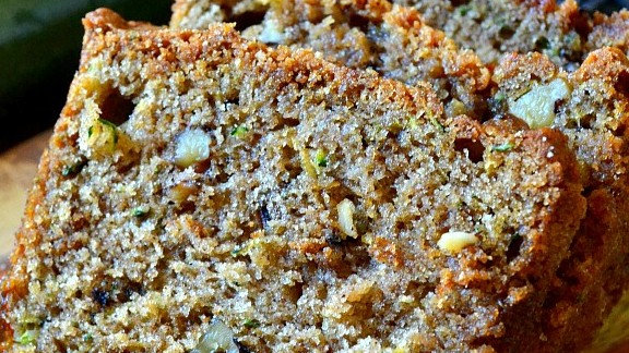 Grumpy's Homemade Loaded Zucchini Bread